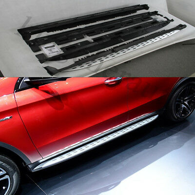 Fit Mercedes Benz W166 GLE coupe sport 2015-17 side step nerf bar running board