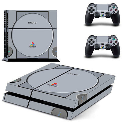 Vinyl Decal Cover Skin Sticker for Sony PS4 PlayStation Console & 2 Controller