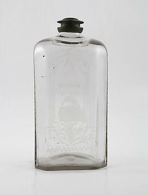 SCHRAUBFLASCHE UM 1760 - SCREW BOTTLE around 1760