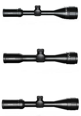 HAWKE VANTAGE MIL DOT RETICLE RIFLE SCOPE AO HUNTING TARGET SHOOTING x32/x40/x50
