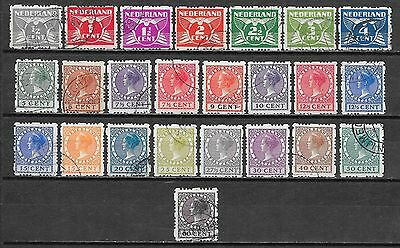 Netherlands stamps 1928 NVPH Roltanding R33-R56  CANC  VF