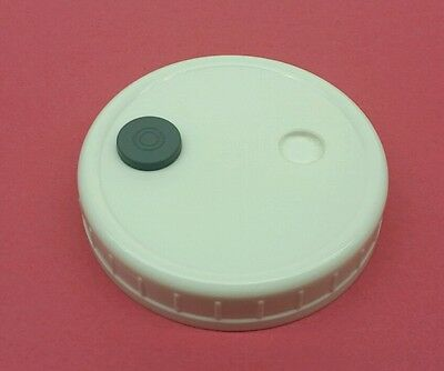 Grain Spawn Master Jar Lid Autoclavable Wide Mouth Mushroom Injection Culture