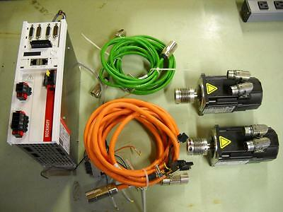 Beckhoff AC Servo Motor Package AX5203-0000 AM3041-OH41-0000 Motors Drive Cables