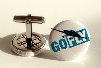 Mens Cuff links Flying Instruments