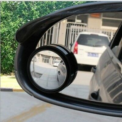 Driver Side Mirror Wide Angle Round Convex Car Auto Rear View Blind Spot