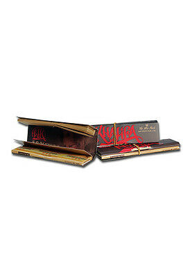 5 Booklets RAW Wiz Khalifa Connoisseur King Size Slim Rolling Papers + Tips