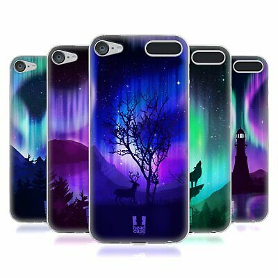 HEAD CASE DESIGNS NORTHERN LIGHTS SOFT GEL CASE FOR APPLE iPOD TOUCH MP3