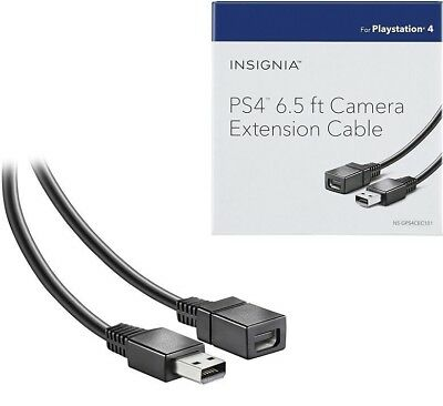 PS4  6.5' Camera Extension Cable for PlayStation 4 by Insignia