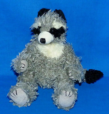 "Ty RADCLIFFE Gray Raccoon (Jointed 8"") Attic Treasure 1999 Boys Girls 3+ NT"