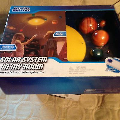 uncle milton solar system in my room instructions