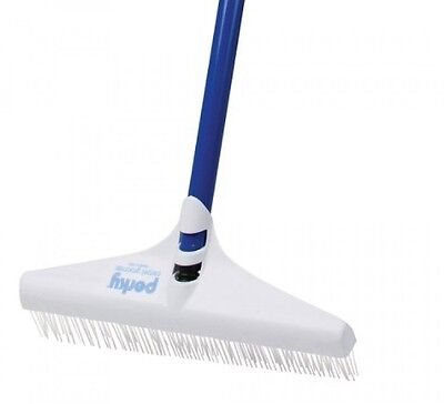 Groom Industries Perky Carpet Rake, New, Free Shipping