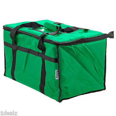 Green Industrial Nylon Insulated Food Delivery Bag Chafer Pan Carrier $10 Rebate