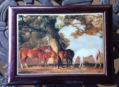 Horses Mares Foals Tile Jewelry Box Kimberly Enterprises  Graphic Art Tiles