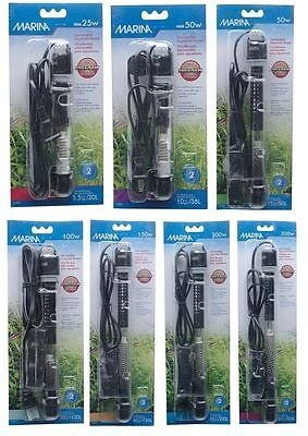 Hagen Fluval Marina Submersible Heater Fish Tank Aquarium Tropical Marine Heater