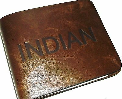 Indian Leather Embossed Wallet (Design Issues Hence Low Price)