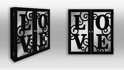 """Special for """"LOVE""""--Wall Mount Armoire Hanging Jewelry Box"""