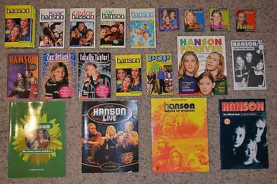 LOT of 20 Hanson Books!  MINT CONDITION!!!