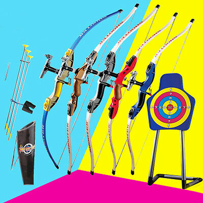 Childrens Adult Archery Bow Arrow Set Outdoor Toy Hunting Sport Game training