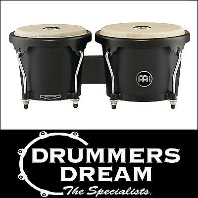 Meinl Percussion Journey ABS HB50BK Bongos -Black Finish - RRP$199