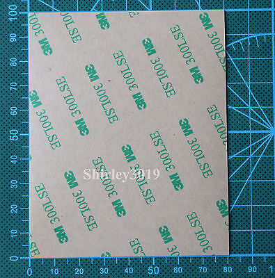 3M 9495LE 300LSE Clear Double Sided Adhesive Tape For Phone LCD Repair 8cmx10cm