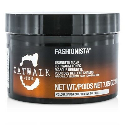 NEW Tigi Catwalk Fashionista Brunette Mask (For Warm Tones) 200g Mens Hair Care