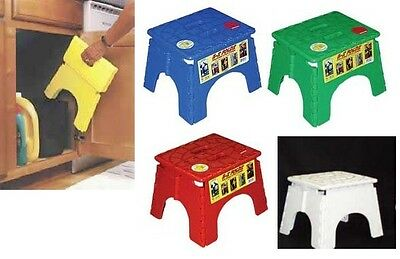 Folding Foldable Step Stool Convenient Stool Easy Store Stepping Up Sitting Down