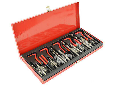 131Piece Helicoil Type Thread Repair Kit M6 M8 M10 Taps and Drill Bits Set Kit