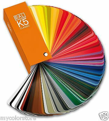 RAL K5 Classic Gloss Colour Guide | RAL Color Card