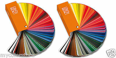RAL K5 Classic Colour 2 Guide Set | RAL Color Card | Both Glossy & Semi-Matte