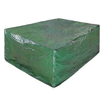 Green Garden Large Rectangle Outdoor Table Furniture Cover FML