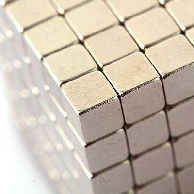 125 pcs 5x5x5mm Cube Magnets Rare Earth Neodymium Fasteners Craft Neodym N35