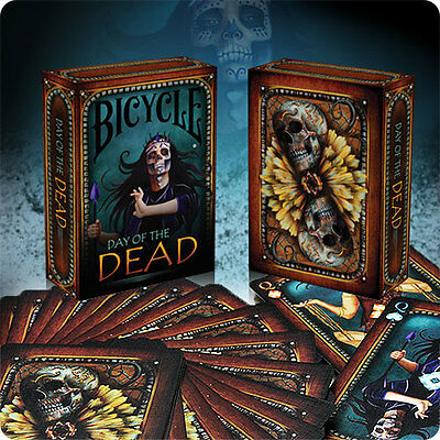 Bicycle Day of the Dead Deck - Playing Cards - Magic Tricks - New