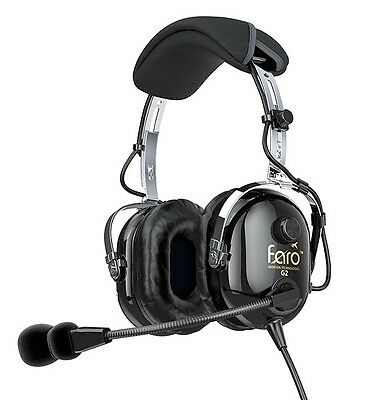 BNIB FARO G2 ANR HEADSET in Black FREE PRIORITY SHIPPING Full Factory Warranty