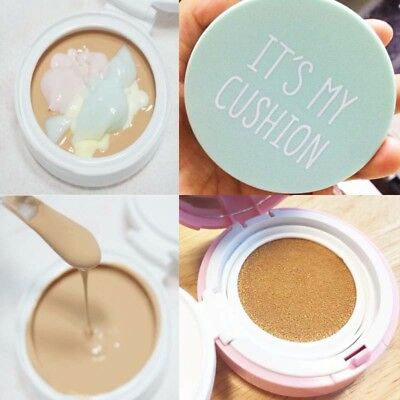 Its My Cushion Case DIY BB Cushion Pact cosmetic Case with Sponge, internal case