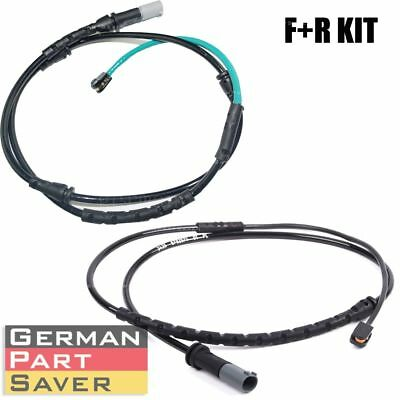 FOR BMW X5M X6M brake pad wear sensor front + rear 34356792568+34356792571