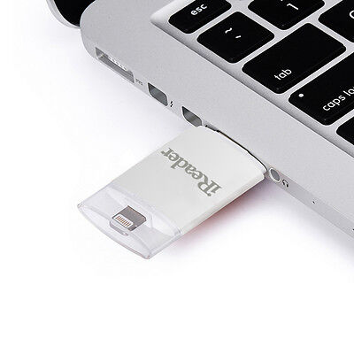 iDrive iFlash USB Flash Drive Fat32 exFAT Micro SD TF Reader Memory For iPhone 6