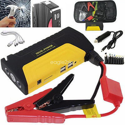 68800mAh AU Jump Starter Vehicle Car Booster Power Battery 4USB Charger Portable