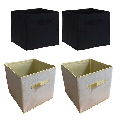 Non Woven Storage Box Fabric Collapsible Container Organiser Solution