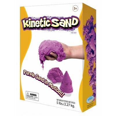Kinetic Sand Coloured - Purple 2.27kg