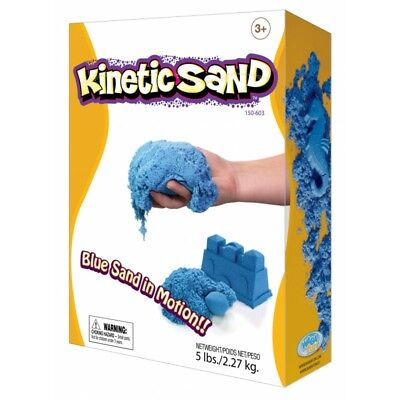 Kinetic Sand Coloured - Blue 2.27kg