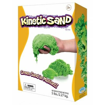 Kinetic Sand Coloured - Green 2.27kg