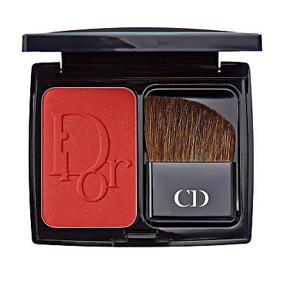 Dior Diorblush Deep Red Vibrant Face Powder Blusher 896 Redissimo