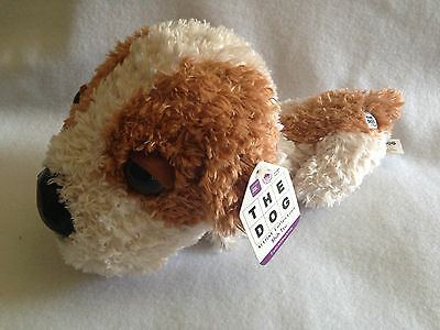 New Shih Tzu The Dog Artist Collection Plush Toy Stuffed Animal White Brown 15""
