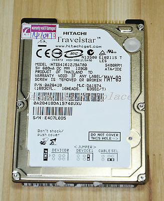 "2.5 ""Hitachi 120GB 5400 HTS541612J9AT00 IDE Notebook hard drive"