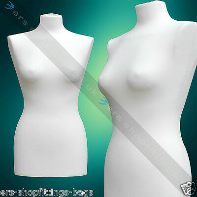 Tailor's Dress Makers Female Ladies Mannequin Dummy Torso Bust Clothes Display