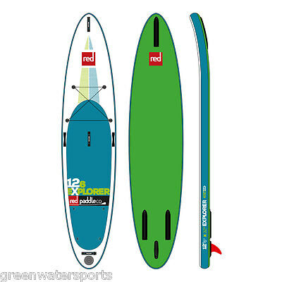 2016 Red Paddle Co 12'6 Explorer inflatable SUP paddle board