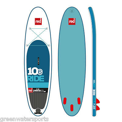 2016 Red Paddle Co 10'6 Ride inflatable SUP paddle board