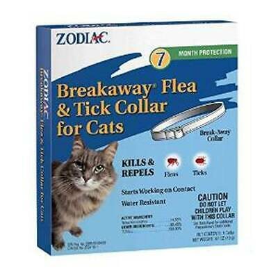 Zodiac Breakaway Flea & Tick Collar for Cats 7 month protection  (Free Shipping)