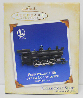 2005 Hallmark Keepsake Ornament Lionel Pennsylvania B6 Steam Locomotive-QX2052
