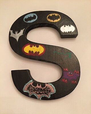 Customized wooden letter 8""